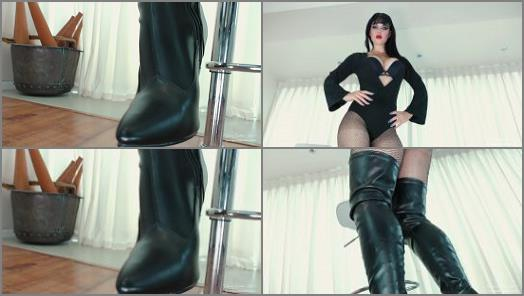 Young Goddess Kim  Devoted Boot Worship preview