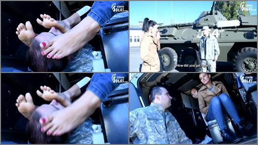 Double Domination – Czech Soles – Double Foot Worship By Army Commander