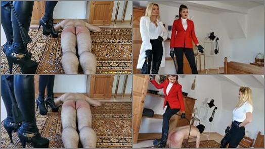 Whip – Miss Melisande Sin – Equestrian Drill –  Liara Sin and Melisande Sin