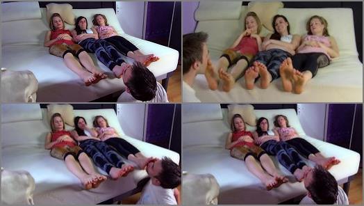 Footlicking – Polish Mistress – 3 Girls – Lick Feet Of Tweens And Weronika