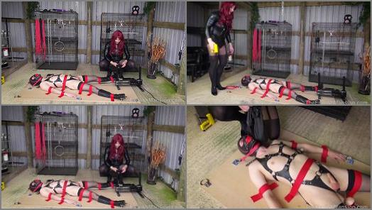 Bondage – The English Mansion – Dolly's Bound Fuck Toy- Position 4 – Part 1 –  Dominant Dolly and Miss Jade Jones