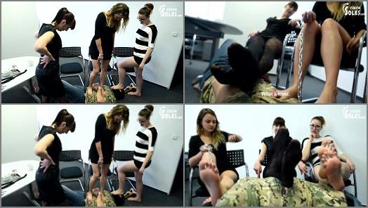 Czech Soles  New slave for 3 girls infinite fun part 2  preview