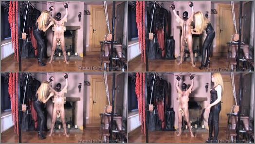 Nipple Torment – Femme Fatale Films – Clamps On, Clamps Off – Complete Film –  Mistress Eleise de Lacy