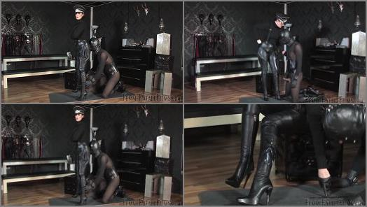 Femme Fatale Films  Cum On My Boots  Complete Film   Lady Victoria Valente  preview