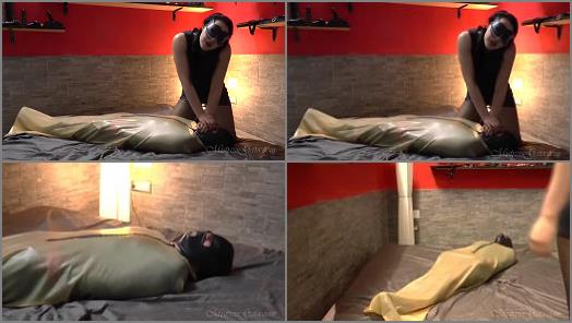 Mistress Gaia  BoundANDLeft Squirming Overnight  preview
