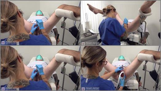 Private Patient  Chastity Cage  Part 5   Dr Eve  preview