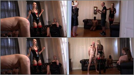 Dual Domination – Sado Ladies – Whipped For Her Pleasure –  Mistress Cloe and Mistress Madita