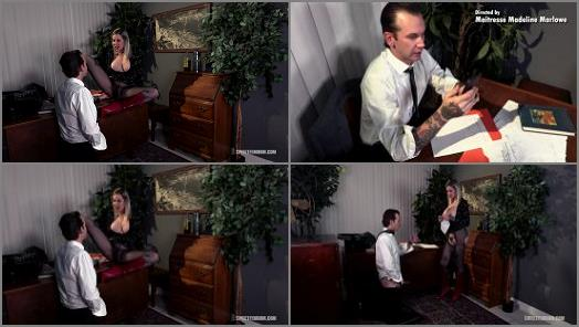 Milf – Sweet Femdom – Hot Secretary – Using Her Boss's Tongue –  Madeline Marlowe