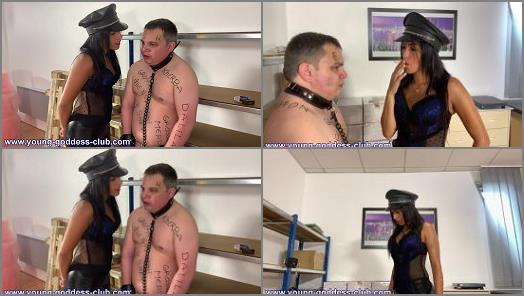 Young Goddess Club  Arabian Goddess Dalila and Ted Slave  Arab Femdom  Arab Mistress Humiliates Her White Pig  Dressage De Kelb Par Maitresse Arabe  preview
