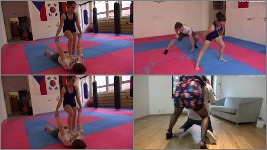 K2s.cc – Deadly Female Fighters – Step Daughter –  Christin