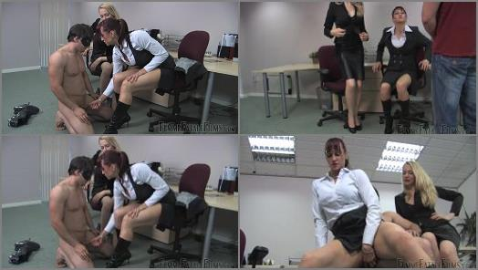 Femme Fatale Films  Office Sex Toy  Complete Film   Miss Miranda and Mistress Eleise de Lacy  preview