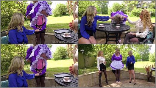 The English Mansion  Displayed Maid  Part 1   Miss Suzanna Maxwell  preview