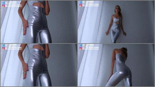 Mistress Alana  Weak For Shiny Outfits Cum Countdown  preview