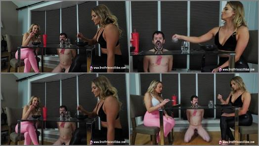 Brat Princess 2  Amber and Nika  Fasting Starving Beta serves Mean Girls while They Eat  preview