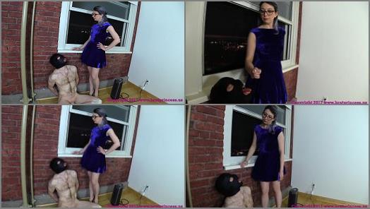 Brat Princess 2  Lola  Trains A Human Ashtray For Sashas Use  preview