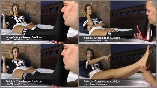 Boot Domination – 'Cheerleader Audition' of 'Dreamgirls in Socks' studio