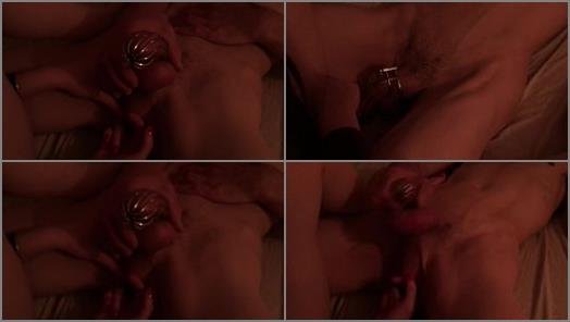Fingered in Chastity  preview