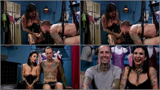 Femdom – Joanna's Boutique starring in video 'Joanna Angel Takes It Out On Her Cheap Customer' of 'Kink' studio