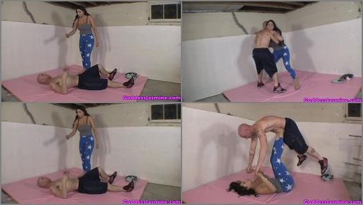 Balls Destruction – The Laughing Latina – Beat By A Girl at the Gym –  Jasmine Mendez