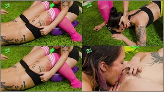 Ava DAmore Lucy Strawberry starring in video Lesbian Soccer Lust of Mondo Fetiche studio preview