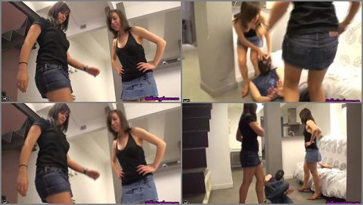 Ballbusting Pleasures  Domestic dispute ends badly  preview