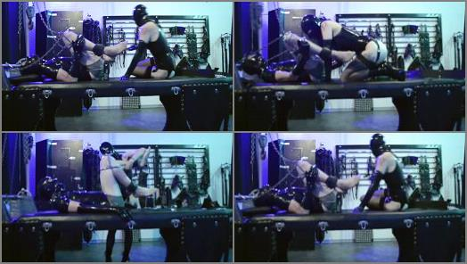 CybillTroy FemDom AntiSex League  ElbowDeep Rubber Fisting preview
