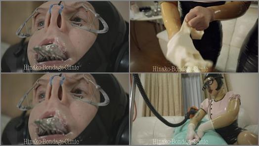 Japanese Femdom – Hinako Bondage Clinic – Hinako Latex Dental Clinic – I examined the patient with latex bondage
