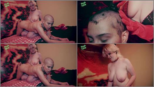 Couple – Lucy Kills, Bunny Adler starring in video 'Picnic In Hell' of 'Mondo Fetiche' studio