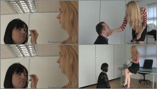Mistress Eleise de Lacy starring in video Her New Slutty Secretary  Complete Film of Femme Fatale Films studio  preview