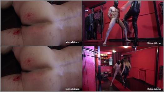 Mistress Iside starring in video DESTROYED BALLS BY METAL STUDS preview