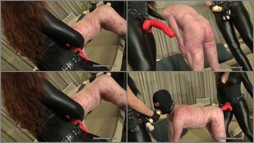 Brutal Strapon Training and Spitroast of Queens of Kink studio preview