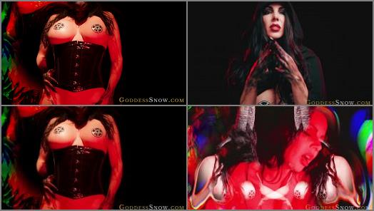 Goddess Alexandra Snow starring in video Damned Devotion Invocation of Lust preview