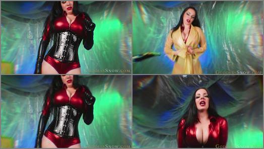 Femdom tube – Goddess Alexandra Snow starring in video 'Seductrixs Secret Lab'