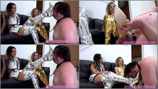 Goddess Draya Princess Lexi starring in video Bootlicker 2040 of The Mean Girls studio preview