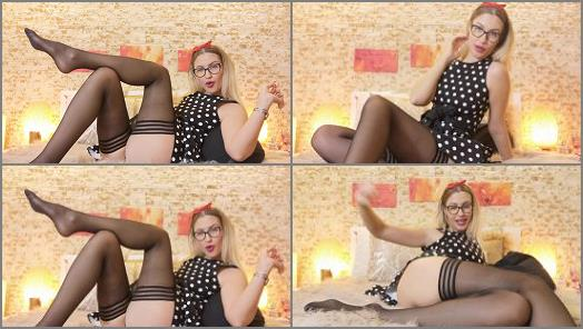Femdom – Goddess Natalie starring in video 'Drained by your bratty girlfriend – Findom'