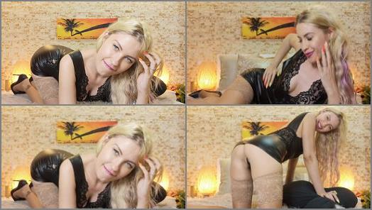 Femdom Tube – Goddess Natalie starring in video 'Gf gives you JOI is Spanish'