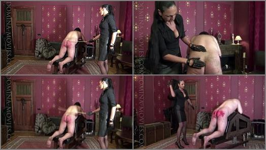 K2s.cc - MADAME CATARINA starring in video 'Extreme Power Caning'