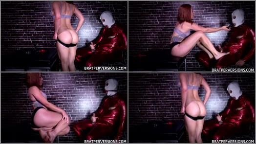 Online – 'Nipples and Cock Tease' of 'Brat Perversions' studio