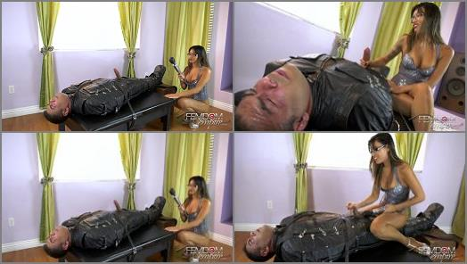 Asia Perez starring in video Mercy Milked of Vicious Femdom Empire studio preview
