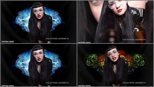 Intox Fantasy – Countess Jezebeth starring in video 'Fingering Your Brain'