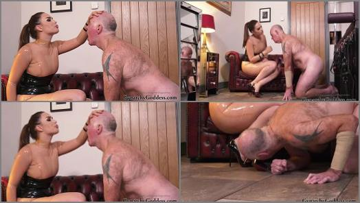 Goddess Gynarchy starring in video Spat on and Slapped hard preview