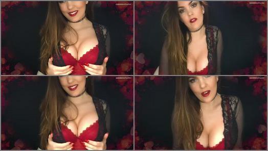 Lipstick Kisses – Goddess Kate Alexis starring in video 'Submissive Little Pet'