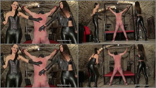 Iris Noir Fetish Liza starring in video First time whipping with Iris Noir of Dirty Dommes studio preview
