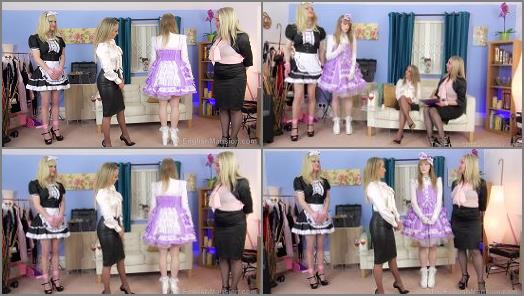 Jessica Doll Mistress Courtney  Mistress Sidonia starring in video The New Girl Pt1  Part 1 of The English Mansion studio preview