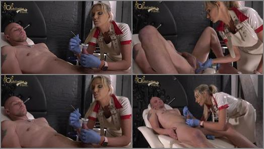 Femdom Tube – Lady Dark Angel starring in video 'Examination' of 'OublietteClip Store' studio