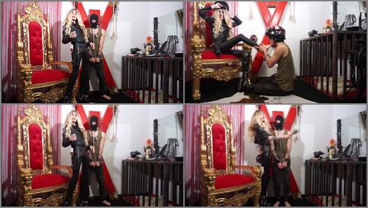 Lady Glamhell starring in video Military Role Play  Full Clip preview