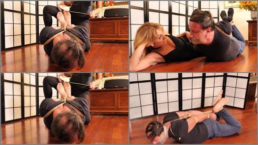 High Heels – Louis & Alba starring in video 'One Hogtie Afternoon' of 'Alba Loves Bondage' studio