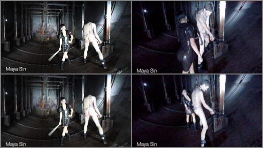 Corporal Punishment Fantasy – Maya Sin starring in video 'Severely caned in an underground bunker'
