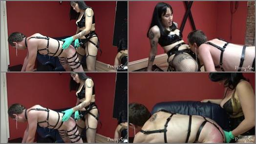 Mistress Fei and Mistress Amandara starring in video Cute Filthy Whore of Merciless Dominas studio preview