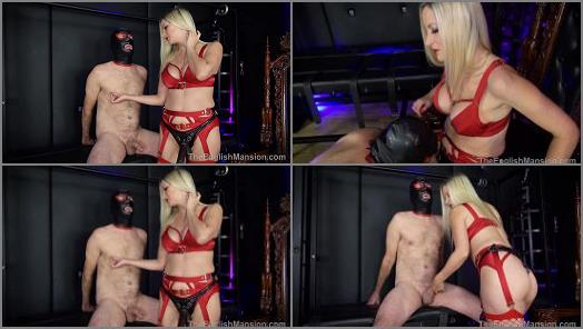 Femdom 2021 – Mistress Nikki Whiplash starring in video 'Suck Cock For Mistress – Part 2' of 'The English Mansion' studio